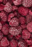frozen raspberries - 172949766