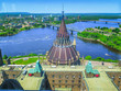 Visiting Ottawa, the capital city of Canada, in Ontario