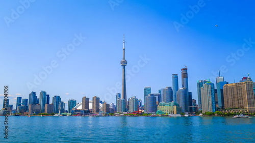 Spoed canvasdoek 2cm dik Toronto Visiting Toronto in Ontario