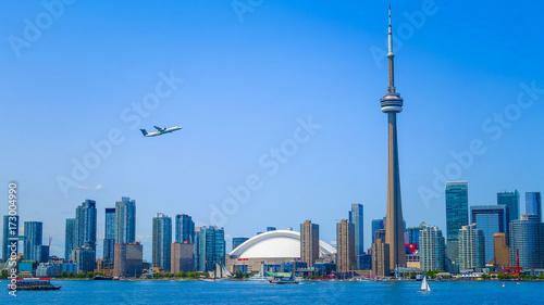 Fotobehang Toronto Visiting Toronto in Ontario