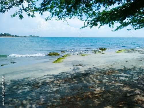 Fotobehang Tropical strand Samarian beach