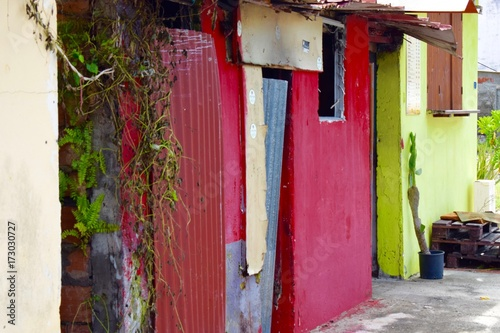 Cabane de pêcheur en Martinique © Boris Dahlia