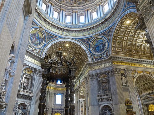 19.06.2017, Vatican City: Saint Paul's Cathedral interior
