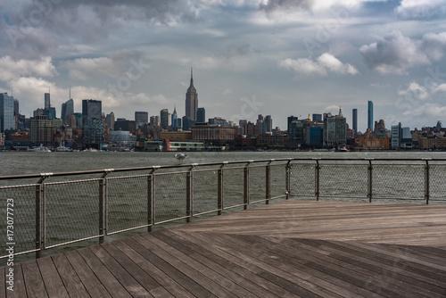 Staande foto New York View of Midtown Manhattan from Hoboken