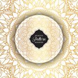 Decorative mandala background - 173108557