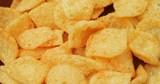 Cheese Crisp in stack - 173145942