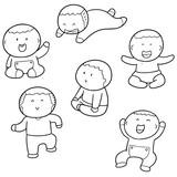 vector set of children - 173182180