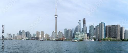 Spoed canvasdoek 2cm dik Toronto Panorama of skyline of Toronto, Canada