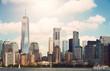 New York city Lower Manhattan skyline - 173207188