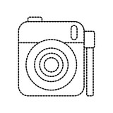cute photo camera gallery accessory vector illustration - 173222357