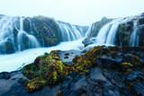 Bruarfoss waterfall in summer time - 173225565