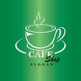 Coffee logo design vector template