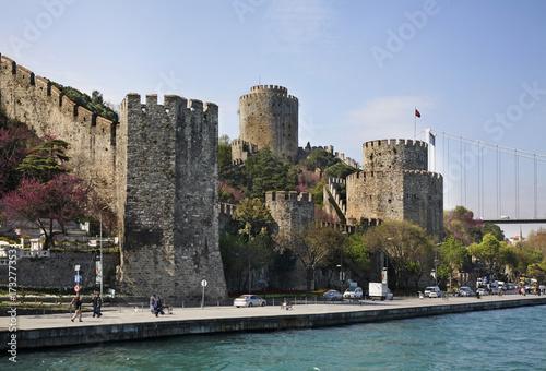 Rumelihisarı (Roumeli Hissar Castle) in Istanbul. Turkey Poster
