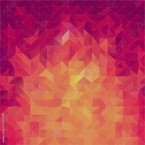 Fotobehang Geometrische Achtergrond Abstract 2D triangle background