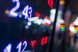 Stock market price display - 173340374