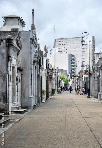 Fotobehang Buenos Aires La recoleta cemetery