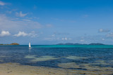 sailing, Mana Island, Fiji - 173360741
