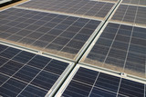 Dirty Dusty Photovoltaic Panels - 173370363