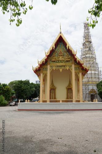 Pagoda under renovation Poster