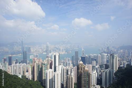 Clouds over Hong Kong Poster