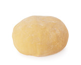 Ball of raw dough isolated on white background with clipping path - 173419970