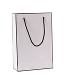 Shopping paper bag isolated on white background with clipping path - 173420330