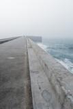 Lighthouse oporto fog - 173420924