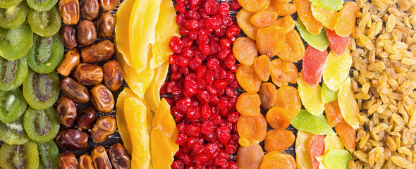 Mix of dried and candied fruit © whitestorm