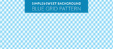 Blue chequered pattern Simple & Sweet Background vol.9 - 173472913