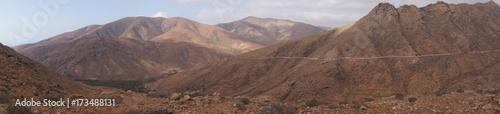Fototapeta Montana Cardon - Fuerteventura