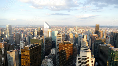 Foto op Canvas New York New York panorama from a high skyscraper