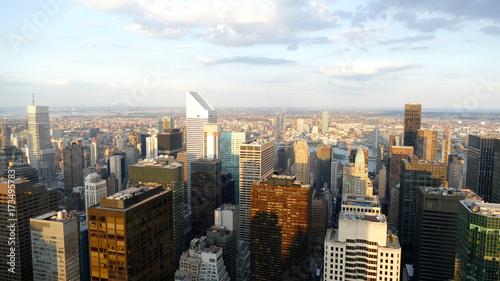 Staande foto New York New York panorama from a high skyscraper