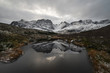 Quadro Norwegian mountains in winter
