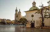 Church of St. Adalbert on main square in Krakow, Poland - 173522782