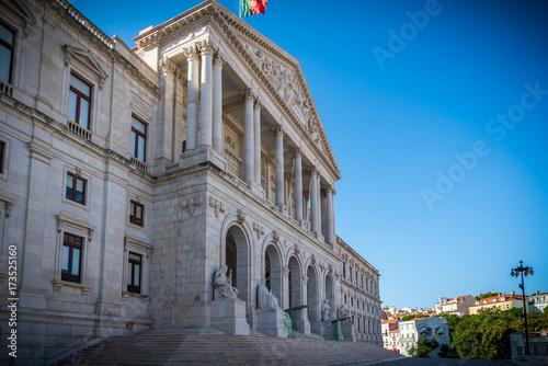 El parlamento de Portugal, Palacio de Sao Bento Assembleia de Republica Lisboa Europa de política, EC, Portugal, Lisboa