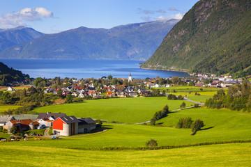 Vik am Sognefjord