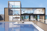 Large house with a swimming pool - 173569770