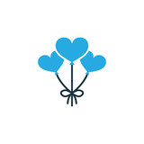 Decoration Colorful Icon Symbol. Premium Quality Isolated Balloons Element In Trendy Style. - 173570756