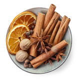 Bowl of various spices - 173582537
