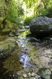river in canyon on matese park torano gorge - 173645756