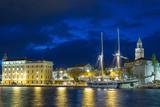 View of Split in Croatia - 173646503