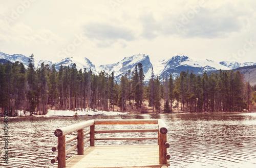 Fotobehang Galyna A. Autumn lake