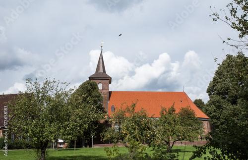 Kirche in Neuenfelde Poster