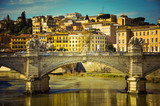 Bridge over the Tevere river - 173664345