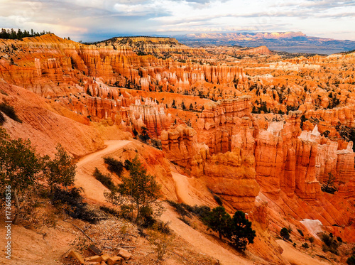 In de dag Baksteen The Bryce Canyon National Park, Utah, United States