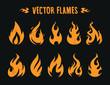 Vector Flames - 173677963