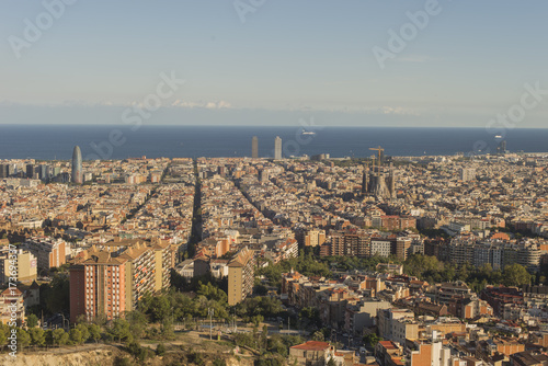 Foto op Aluminium Barcelona Details of the Catalan region