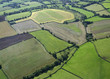 Aerial View of the county of Avon, Uk
