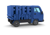 Free Shipping Concept - 3D - 173699156