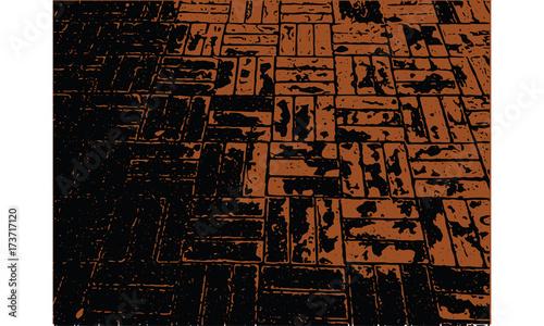 brick floor texture - 173717120